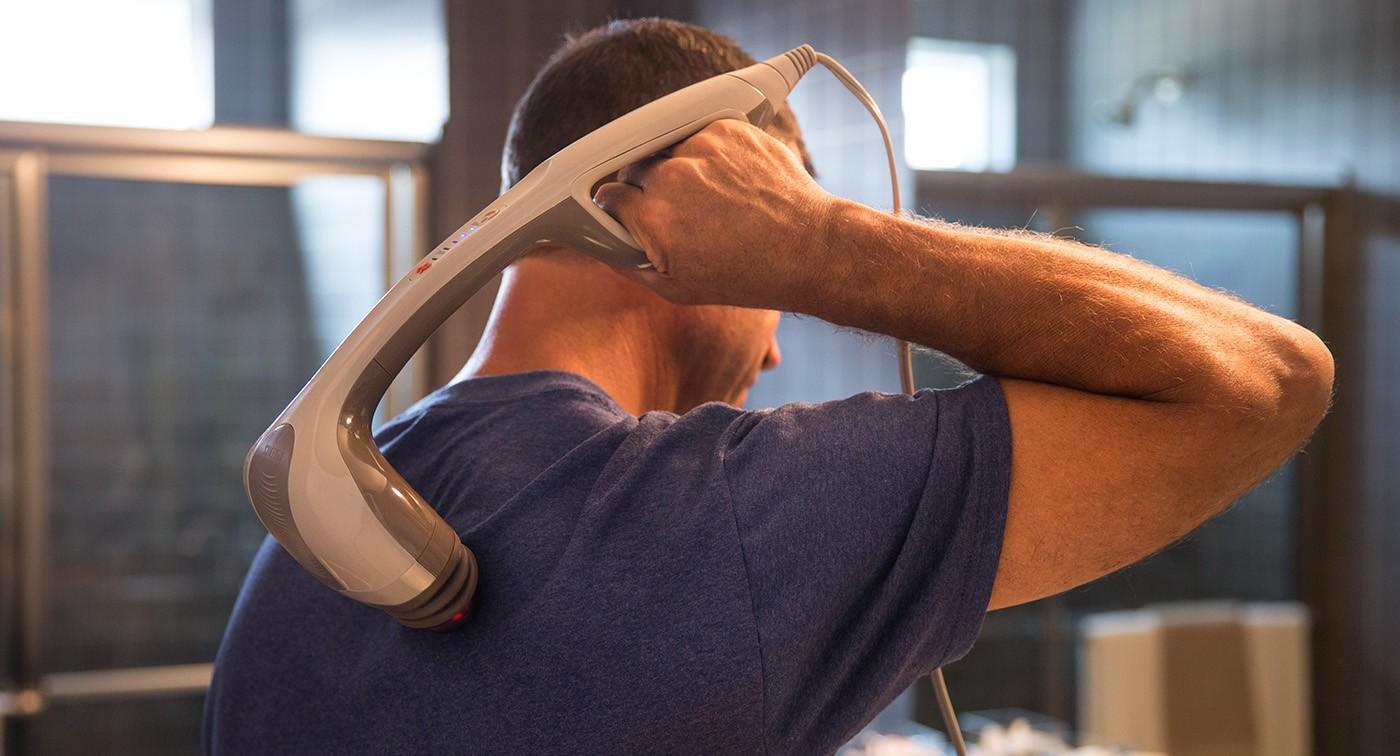 HoMedics Percussion Pro Handheld Massager with Heat