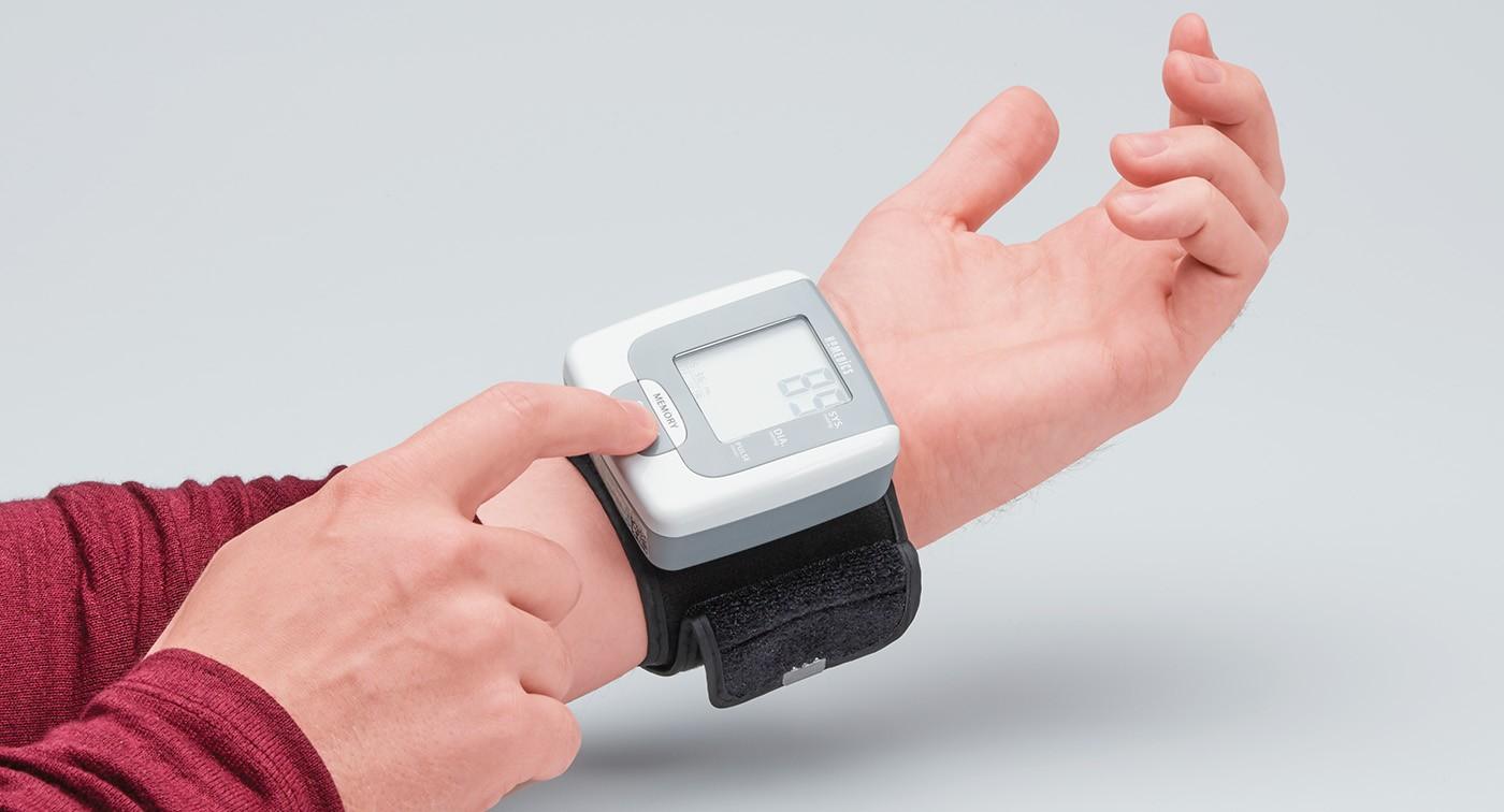 HoMedics Portable Wrist Blood Pressure Monitor