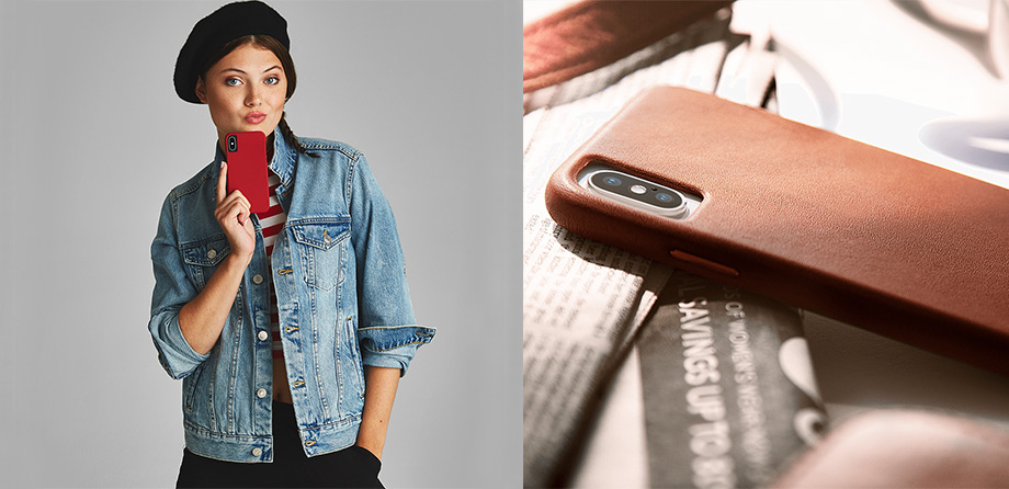 iPhone XR Case-mate Barely There Leather case