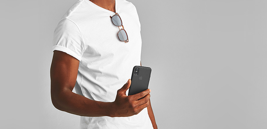 iPhone X/Xs Case-mate Black Tough case