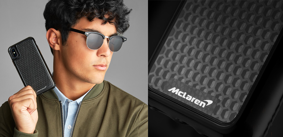iPhone Xs Case-mate Black McLaren LTD  case