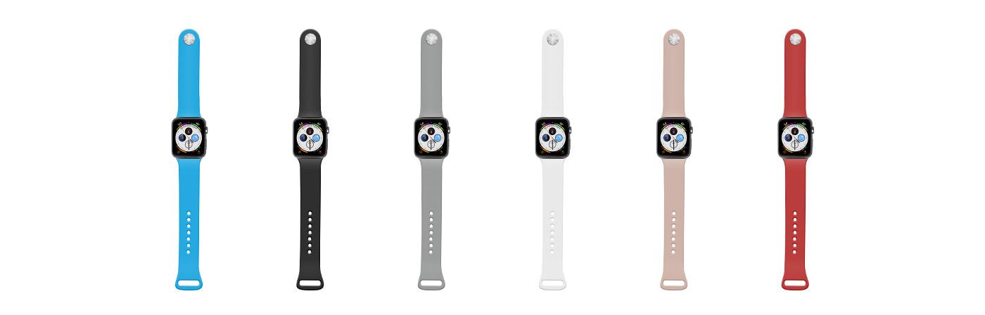 Natztek Silicone Watch Bands