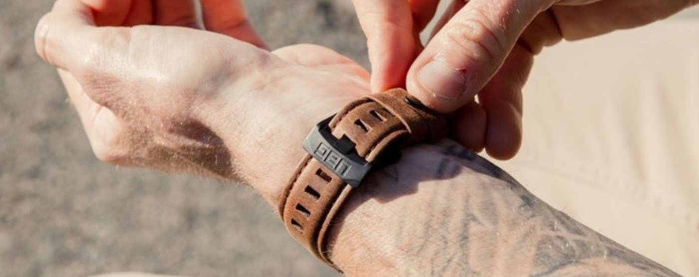 UAG Apple Watch Band Leather